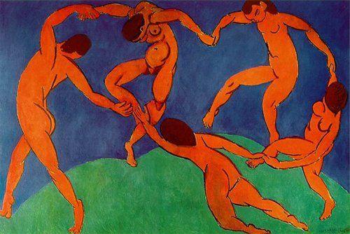 quadro di Henri Matisse la danza