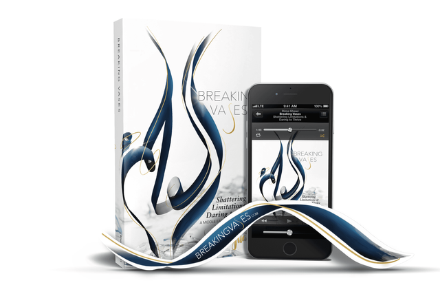Breaking vases book bookmark and audio
