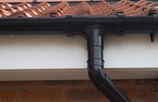 Guttering close up