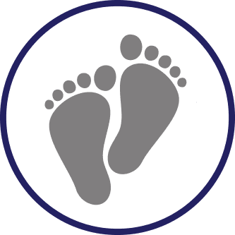Abbey Road Podiatry logo