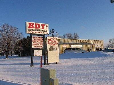 B D T Inc sign in Wisconsin Rapids
