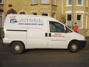 Caravan servicing - Withernsea, East Yorkshire - Just Tourers - Caravan repairs