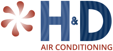 H&D AIR CONDITIONING logo