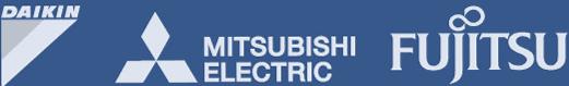 DAIKIN FUJITSU logos