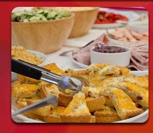Looking for mobile catering services? Call 01256 632 950