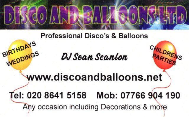 Disco And Balloons Ltd