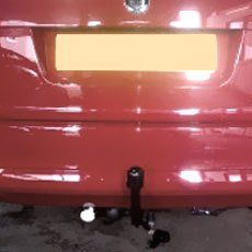 towbar with accessory