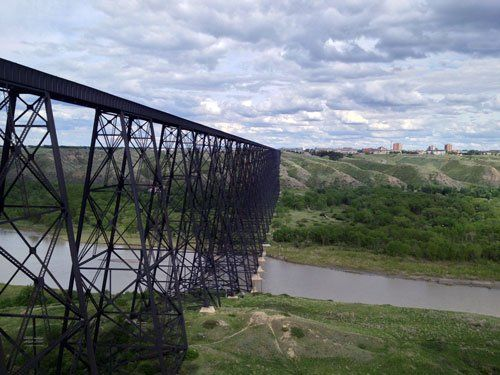 Lethbridge bridge - by Sebastian Koppe