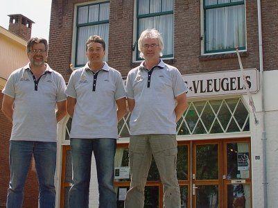 Hugo de Jong, Ron Meijjes, Jos Ruiiters