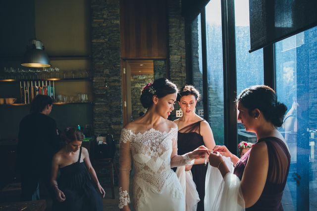 Bridal Party Makeup with Body Sanctum