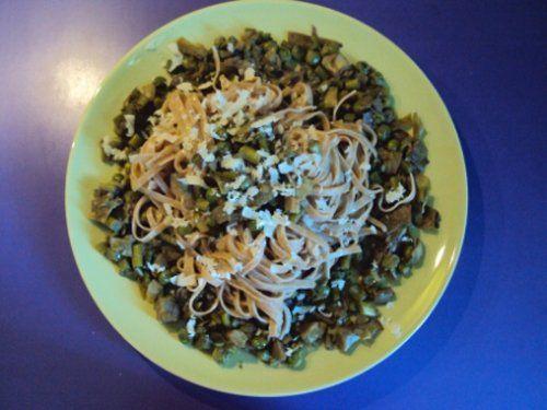 spaghetti e farro