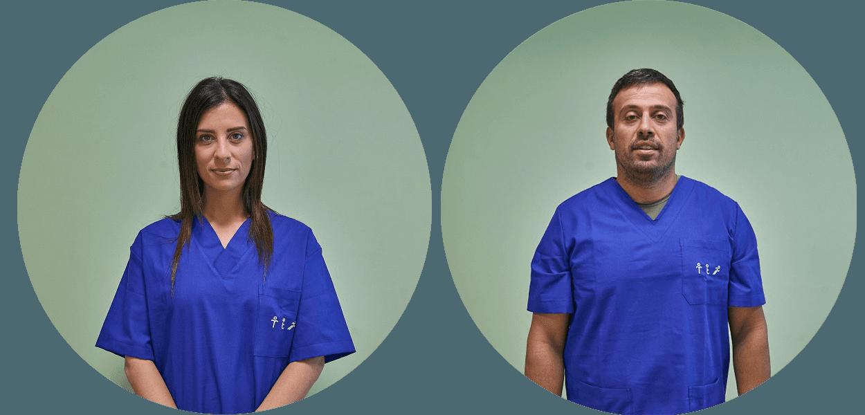 foto di due dottori