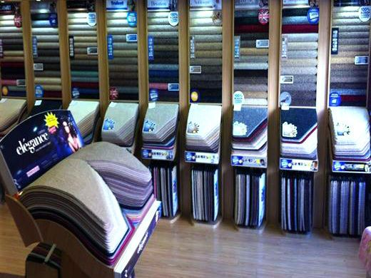 Selection of carpets in Sleaford