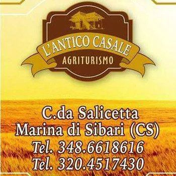 L'ANTICO CASALE AGRITURISMO - LOGO