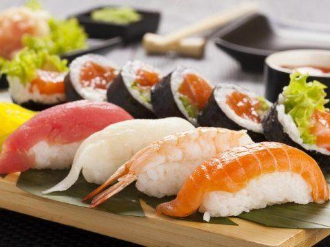 mix di sushi