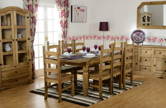 Dining room Furniture oak, beech, pine, cream, white painted