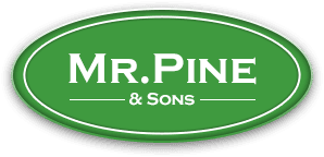 Mr. Pine and sons logo