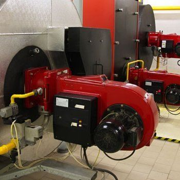 Steam boiler burner repairs
