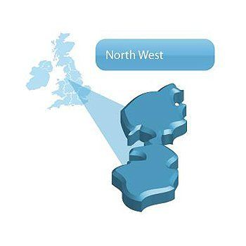 North west Stockport map
