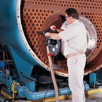 Steam boiler cleaning