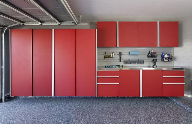 Kansas City Custom Garage Cabinets, Custom Garage Storage