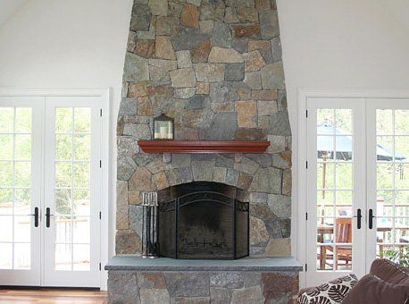 stone fireplace builders