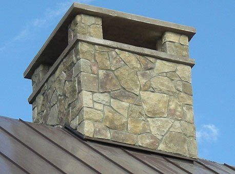 modern stone fireplace repair and installation