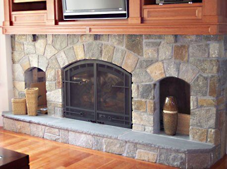 Stone Fireplace Repair Design Amp Installation Portfolio