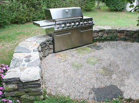 outdoor grill structure builders