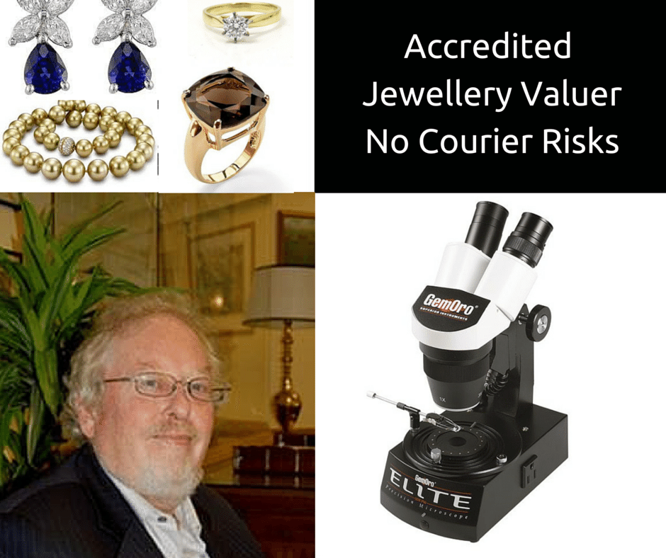 jewelry being valued