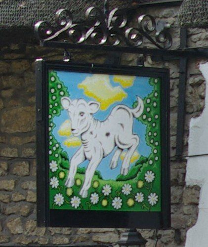 The Lamb Inn board