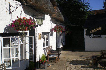 The Lamb Inn view