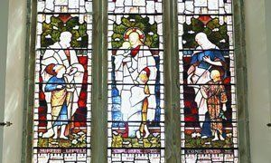 Church window protective screening