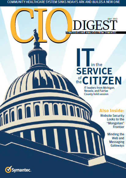 TIRO Communications, CIO Digest, Symantec