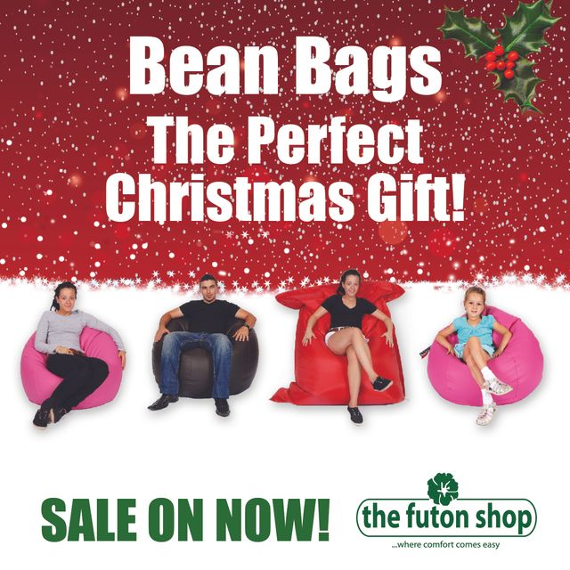 The Futon Shop Bean Bag Poster
