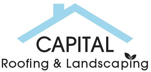 CAPITAL roofing and landscaping logo