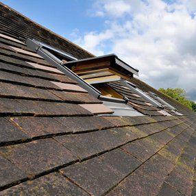 roof before repair