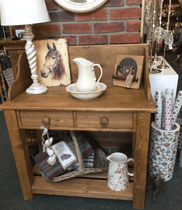 Variety of women handbags on shelves in Whitby