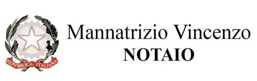 MANNATRIZIO NOTAIO VINCENZO - STUDIO NOTARILE -  LOGO