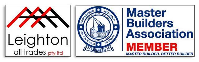 bernies trades master builders leighton logo