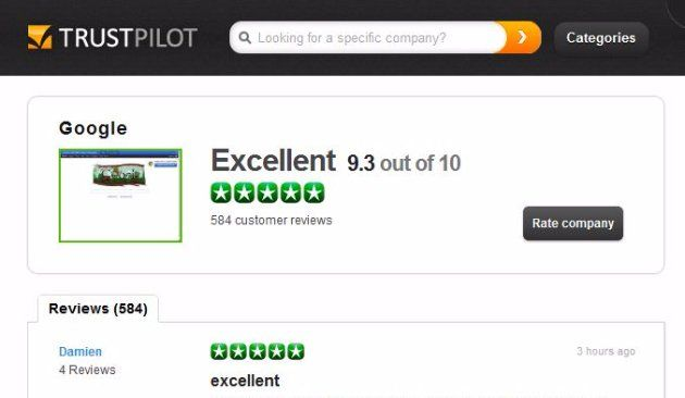 Showcase your reputation with Trustpilot
