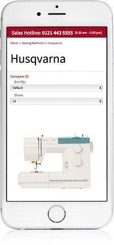 Website design on iPhone