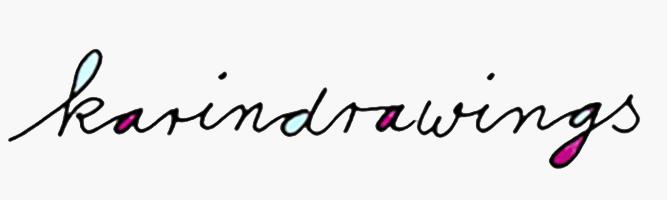 Logo der Künstlerin Karindrawings