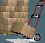 imballaggi, trasporto mobili, magazzino per custodia