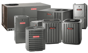 amana heating and air products