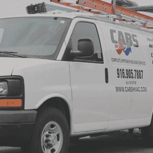 CABS HVAC service van