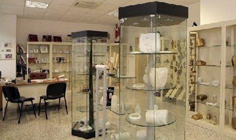 Esposizione di opere in marmo
