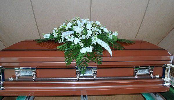 Un cofano funebre