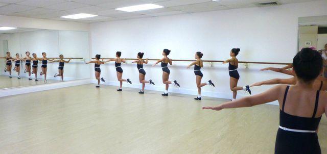 students of The St. Laurent School of Dance