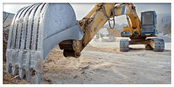 assistenza escavatori